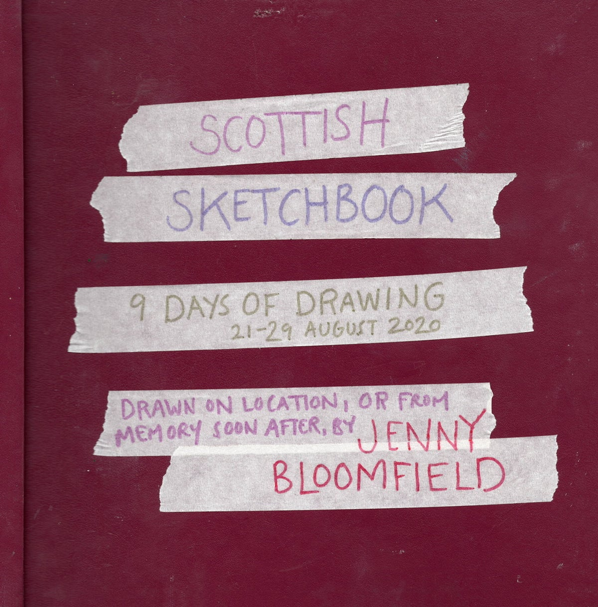 Image of  Scottish Sketchbook - sketchbook zine