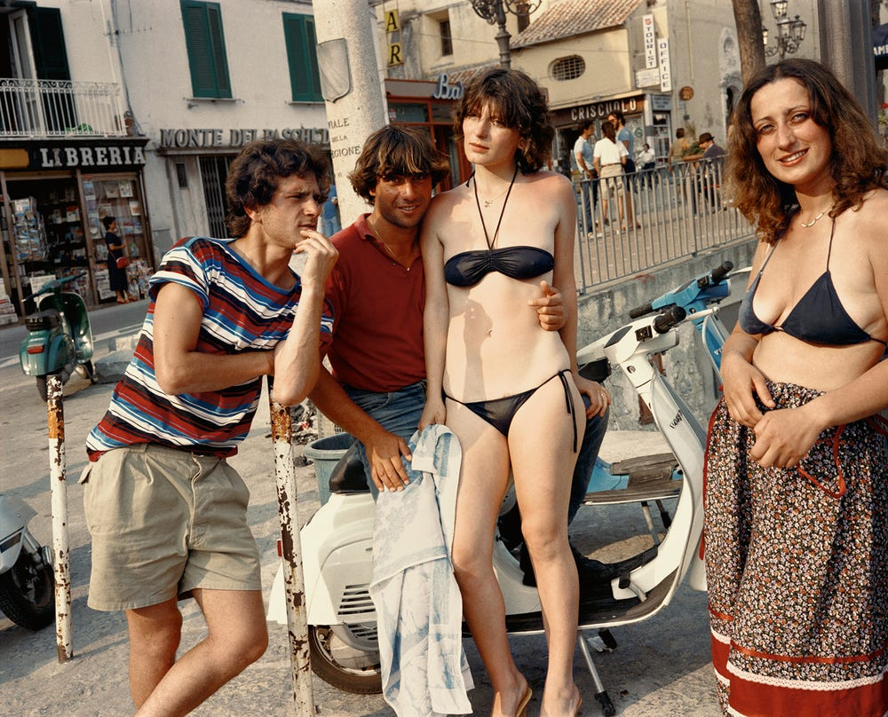 Charles H. Traub - Dolce Via: Italy In the 1980's