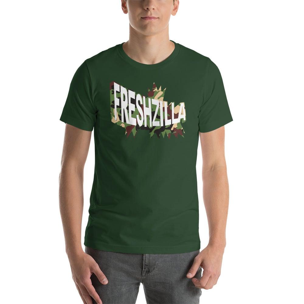 FRESHZILLA Green Camo Logo T-Shirt