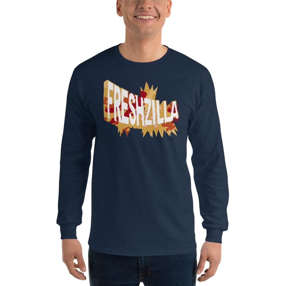 FRESHZILLA Gold Camo Logo Long Sleeve Shirt