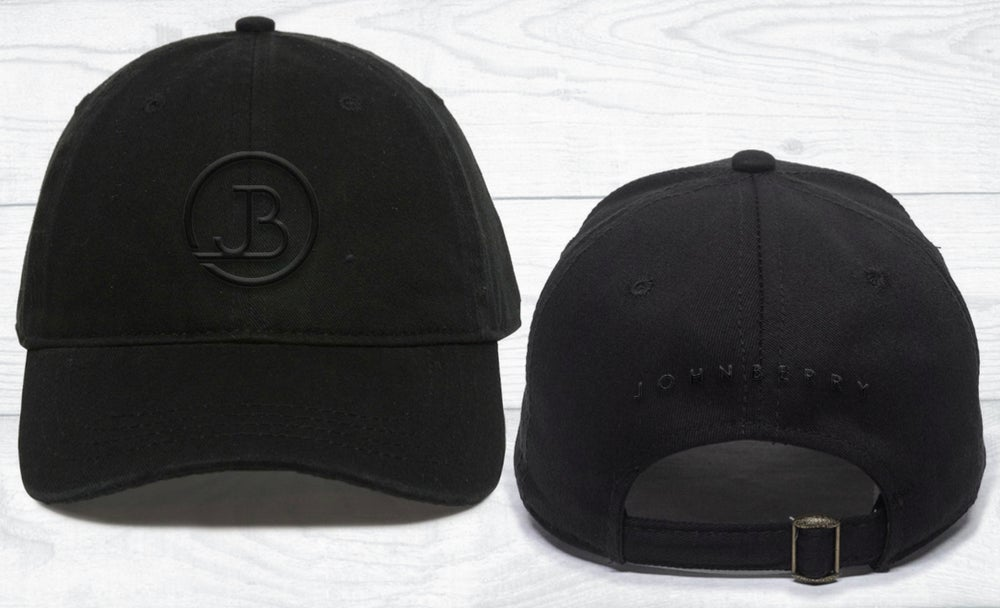 Image of JB Blk on Blk Ball Cap