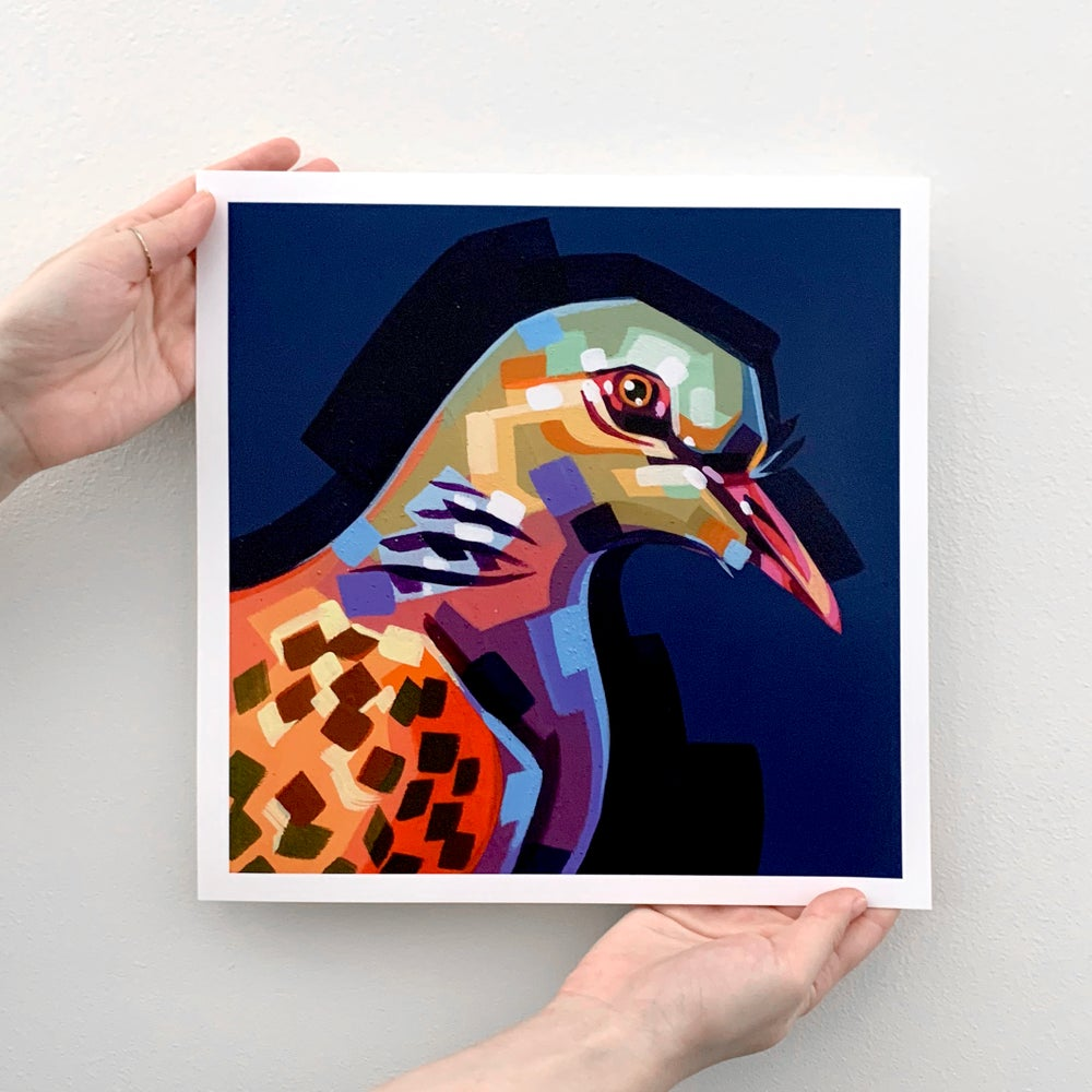 "Pigeon - Signed 12"" Prints"