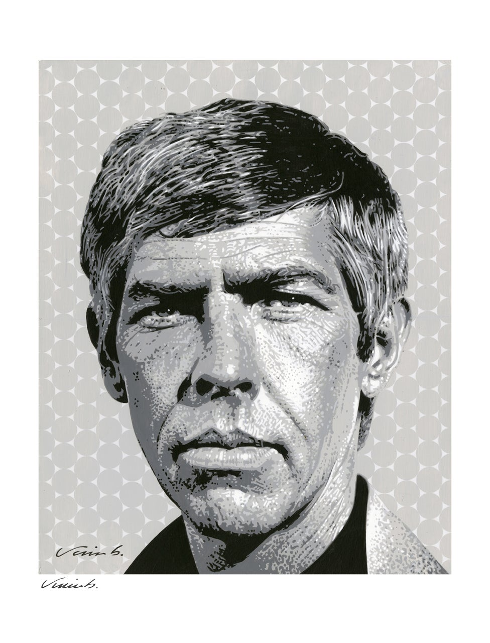 Image of JAMES COBURN poster print