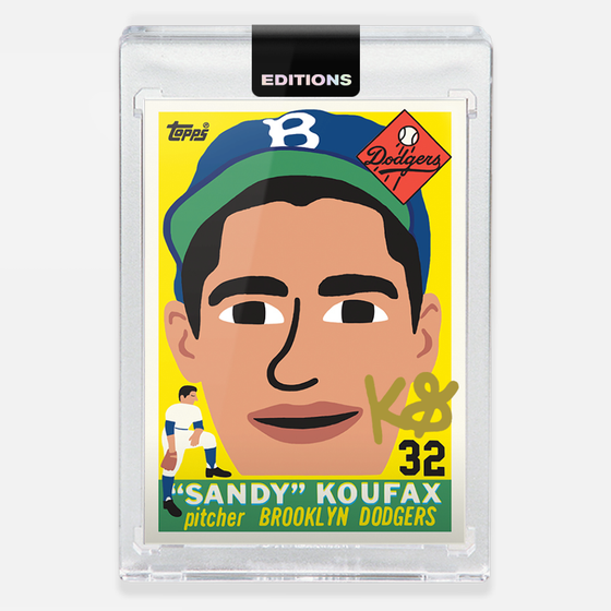 Image of 1955 Koufax 'Gold'