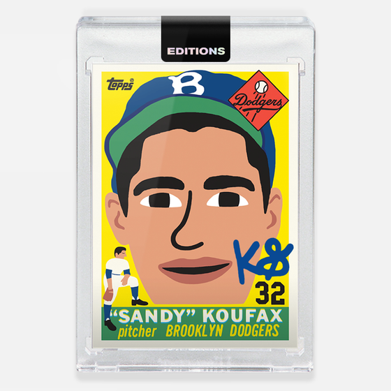 Image of 1955 Koufax 'Blue'