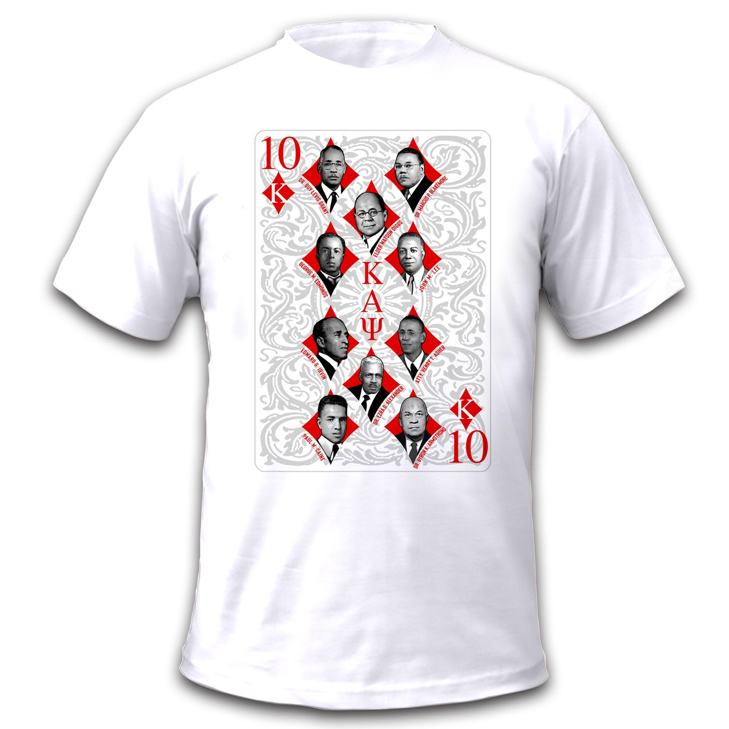Image of 10 Diamonds Founders Graphic Dry Fit T-Shirt