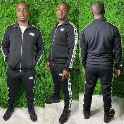 Image of GIFTED MISFIT SWEAT SUIT-black