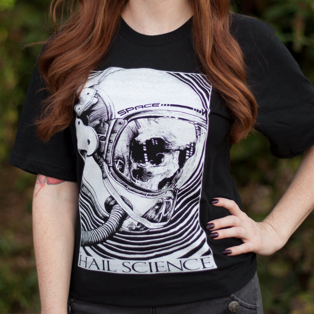 Image of Hail Science Black Unisex T