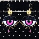Image 1 of Eye Am Divine Drop Earrings