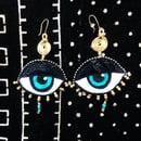Image 5 of Eye Am Divine Drop Earrings