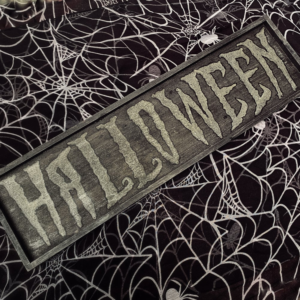 Image of Halloween Decor Sign