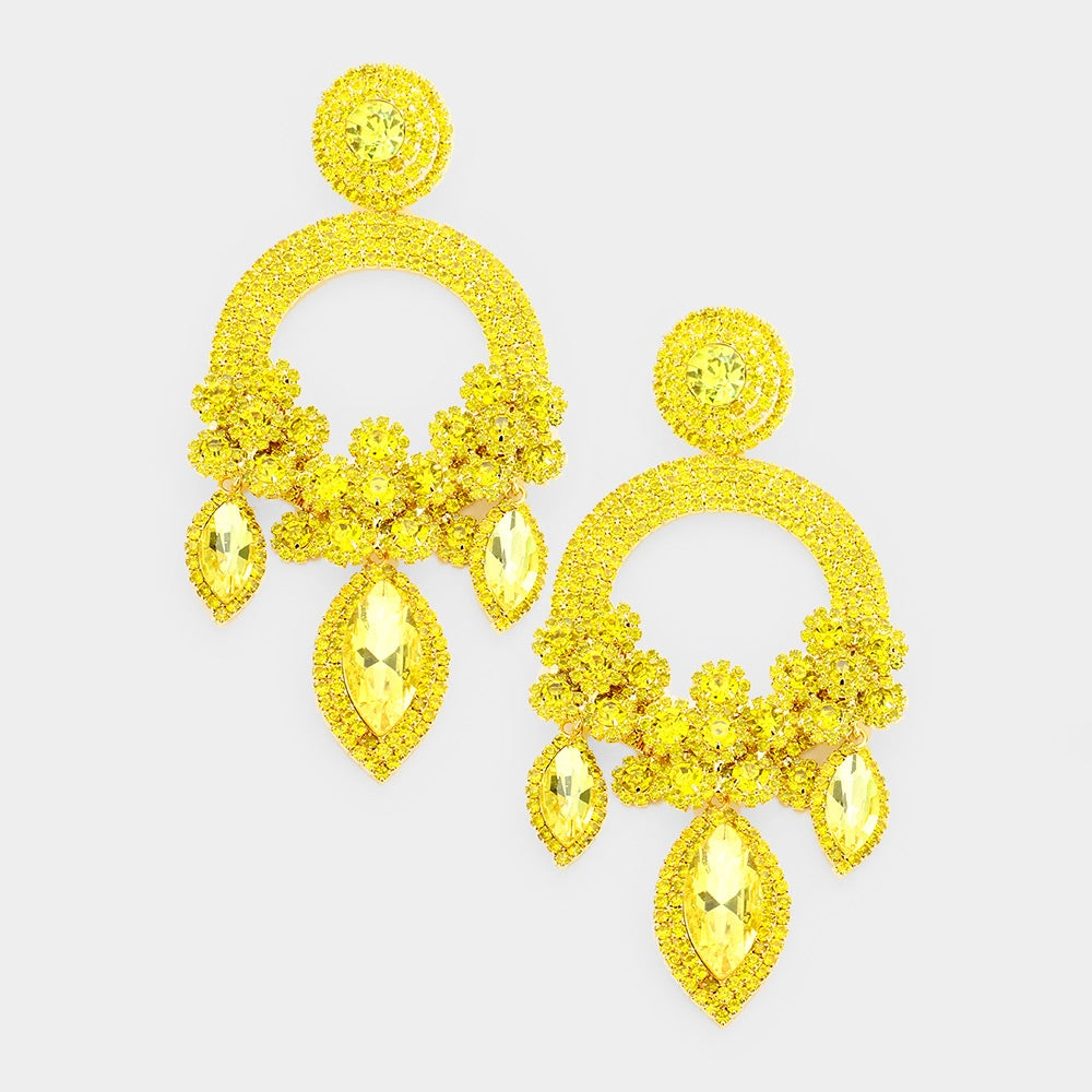 Image of Drama Queen Statement Earrings