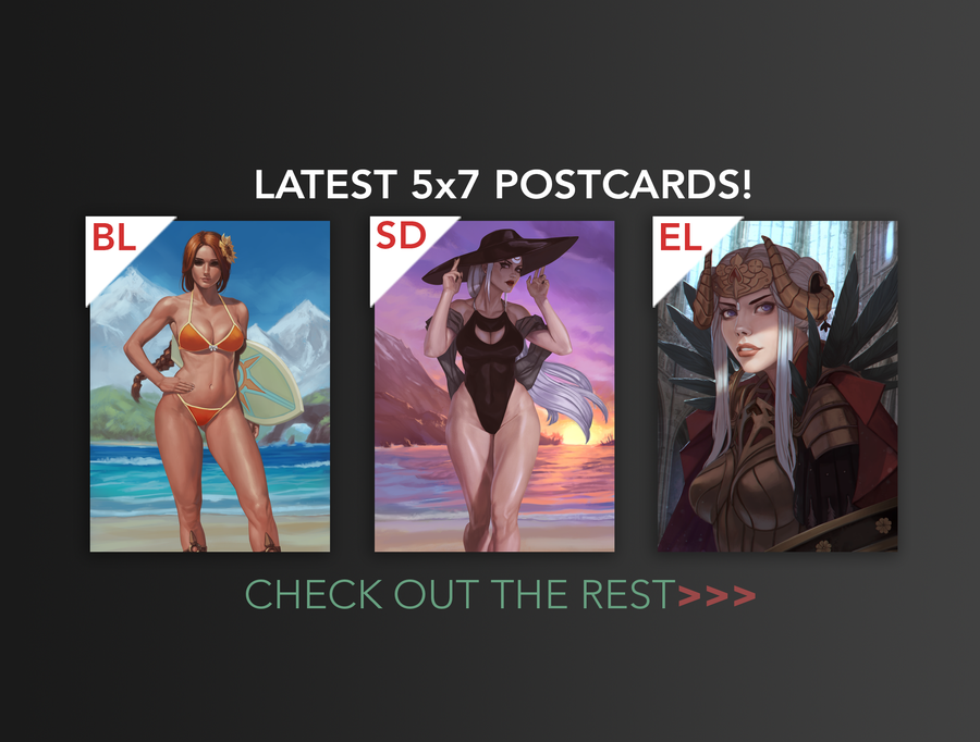 "Image of 5""x7"" Postcard Prints"