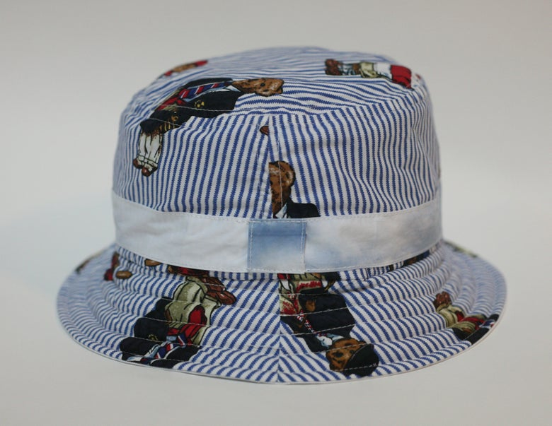 Image of Shibori Teddy Bear Bucket Hat