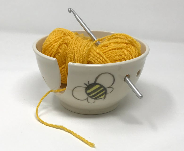 Image of Bee decorated STRING Bowl