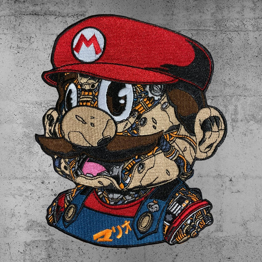 Image of MECHASOUL MARIO PATCH