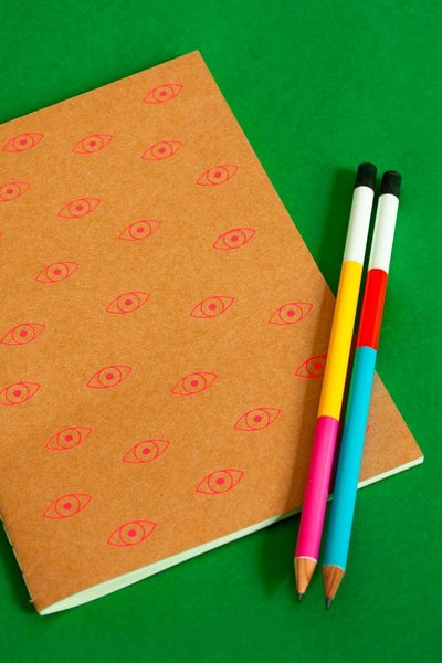 Image of Eyes Notebook - A5