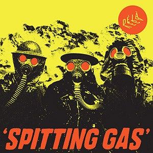 """Image of **PRE ORDER** Spitting Gas 7"""" coloured vinyl"""