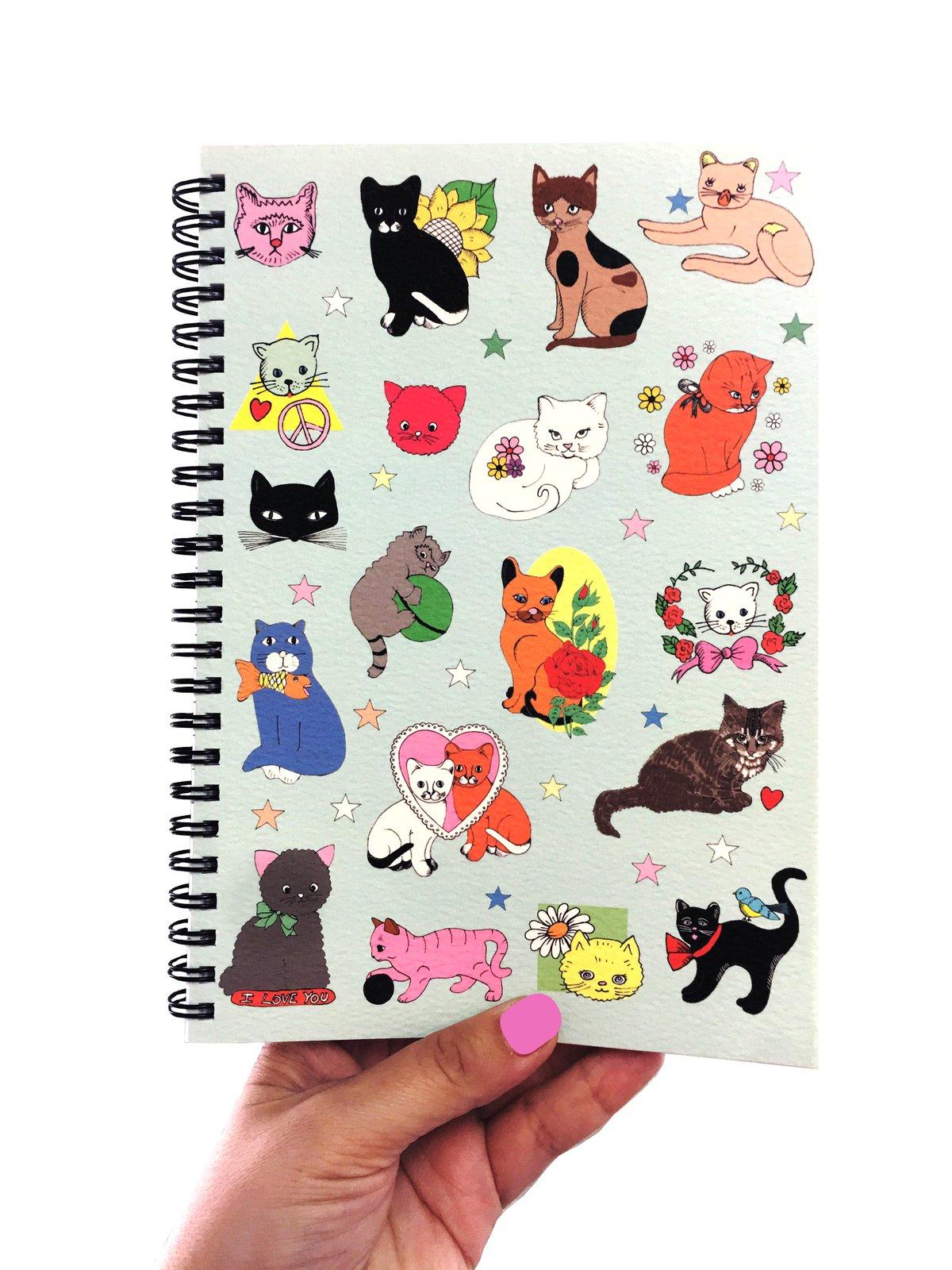 Cats Notebook - A5 Spiral Bound