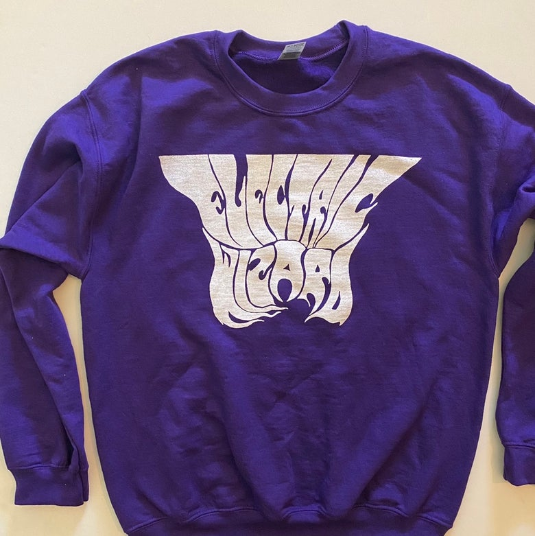 Image of Electric Wizard - Purple Sweatshirt