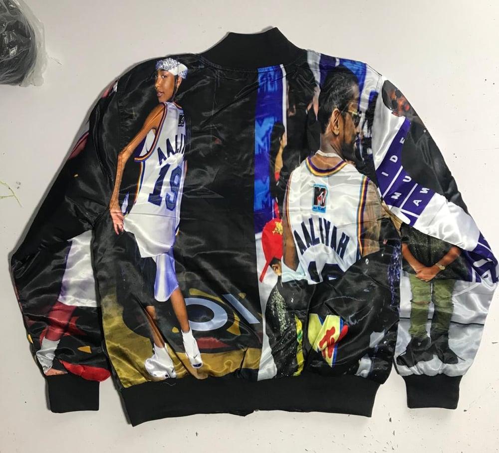 Image of Fabolous x Aaliyah Bricklayers Satin Custom