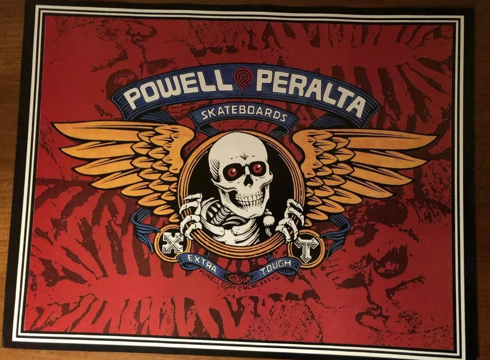 Image of Rare Deadstock Powell Peralta Double Sided Poster