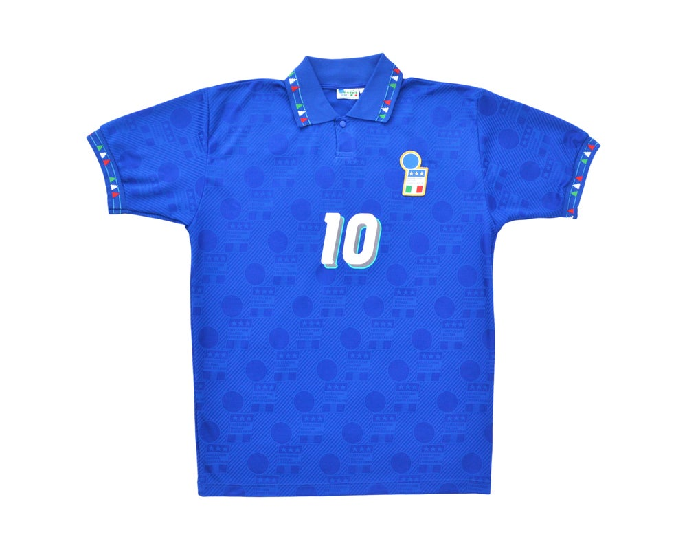 Image of 1994 Diadora Italy Home Shirt 'Baggio 10' L/XL