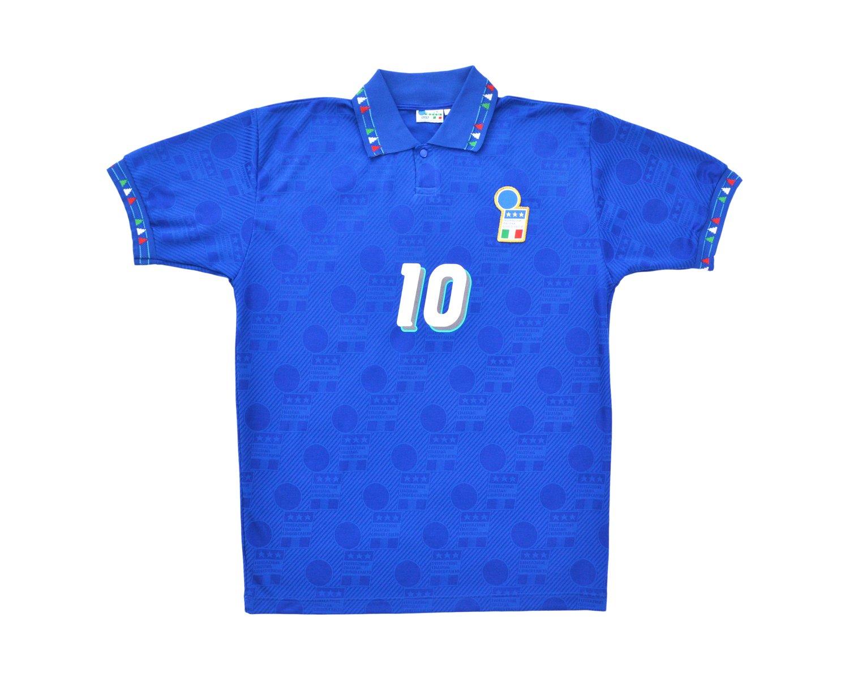 Image of 1994 Diadora Italy Home Shirt 'Baggio 10' L/XL