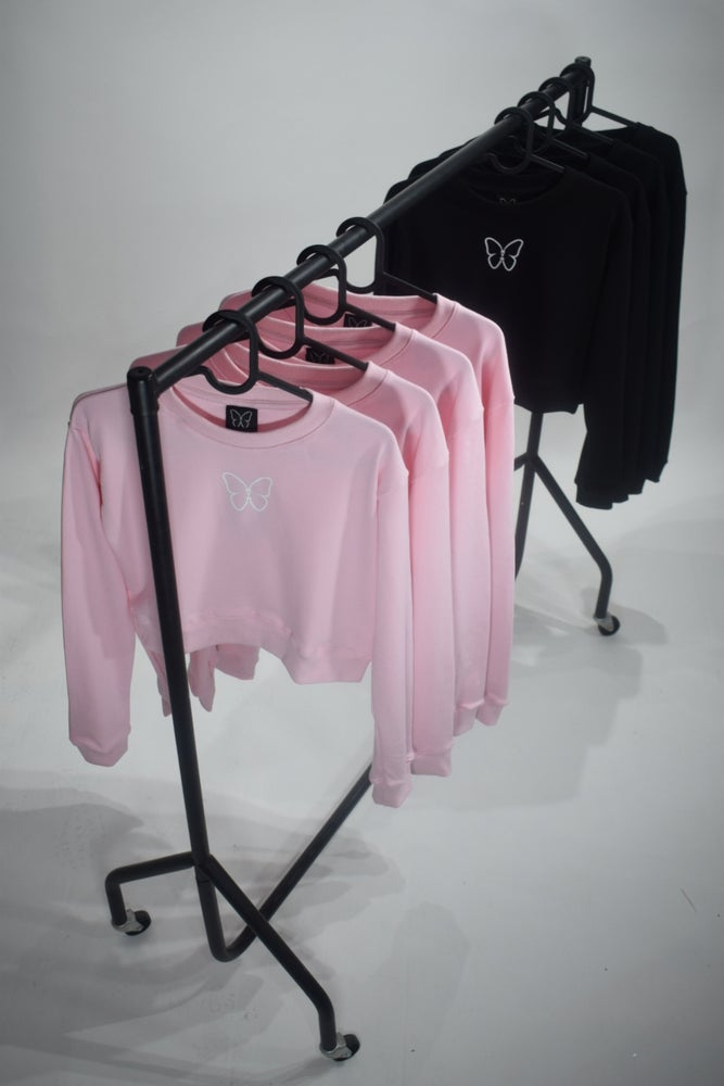 Image of Crop sweatshirts