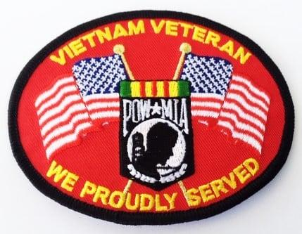 Image of Vietnam Veteran We Proudly Served
