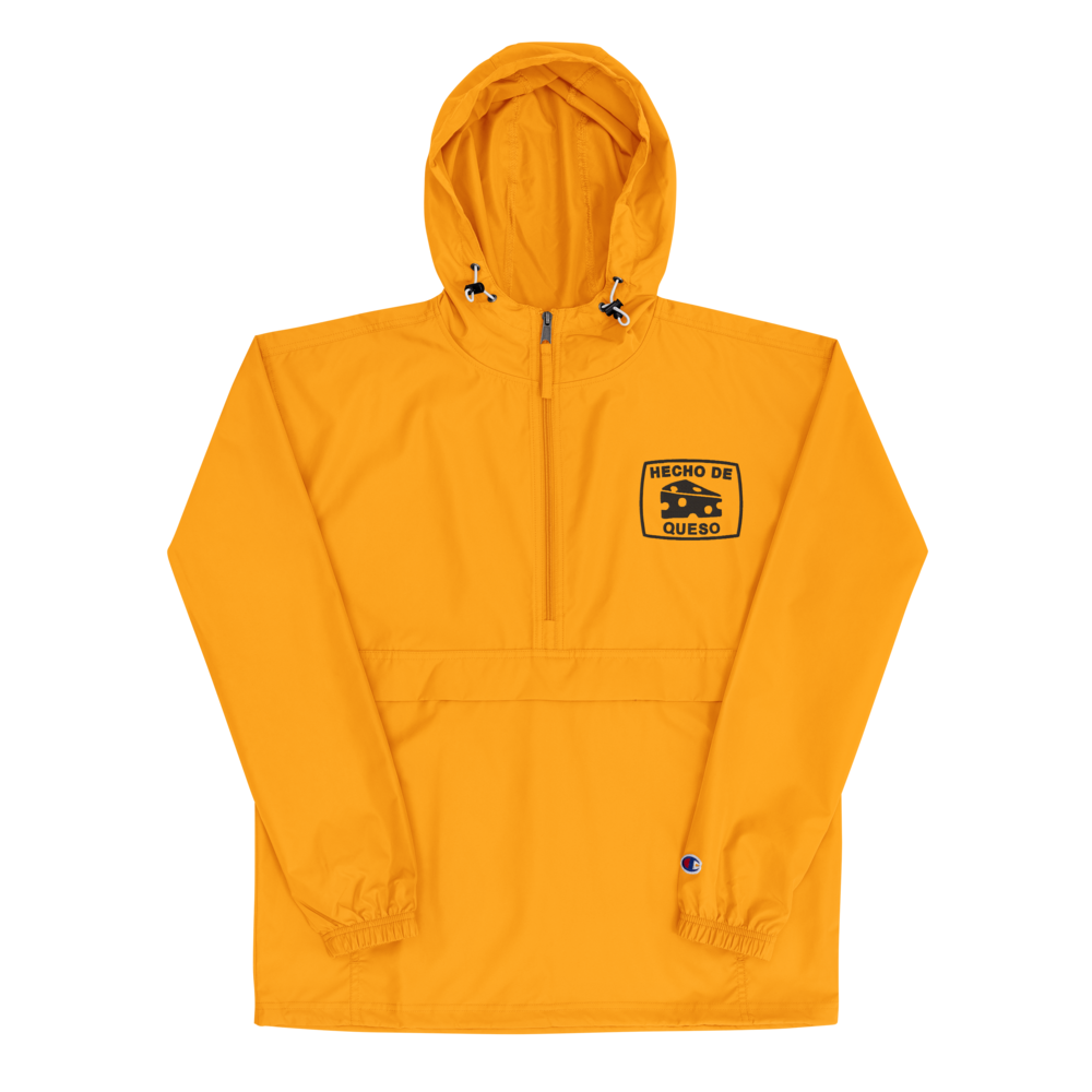 Image of HECHO EMBROIDERED CHAMPION PACKABLE JACKET