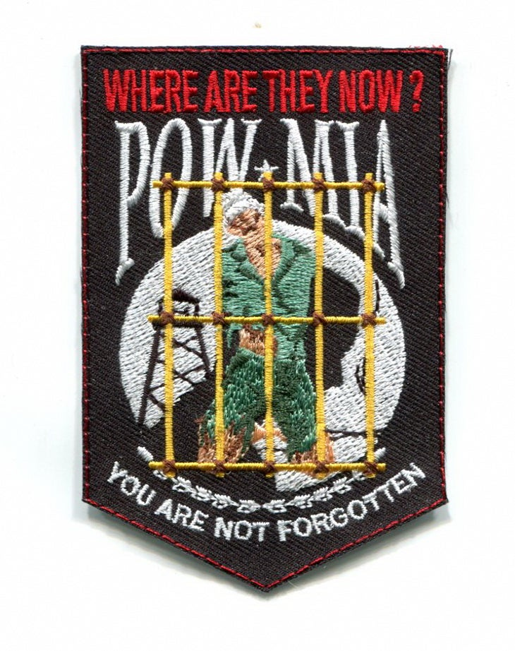 Image of POW MIA Tiger Cage Patch