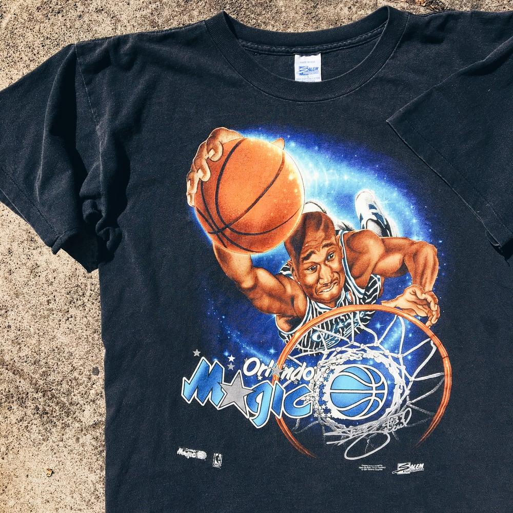 Image of Original 90's Salem Sportswear Shaq Tee.