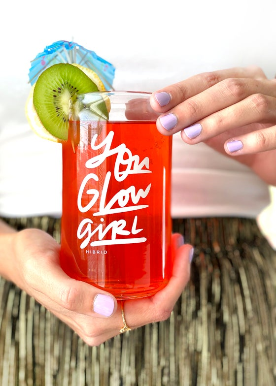Image of You Glow Girl Glass