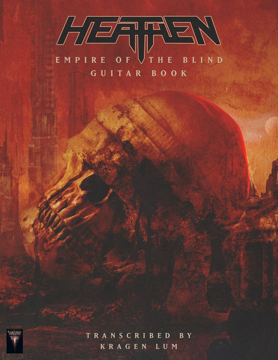 Image of Heathen - Empire Of The Blind Guitar Book (Print Edition)