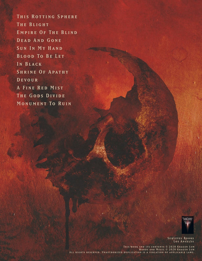 Image of Heathen - Empire Of The Blind Guitar Book (eBook Edition)