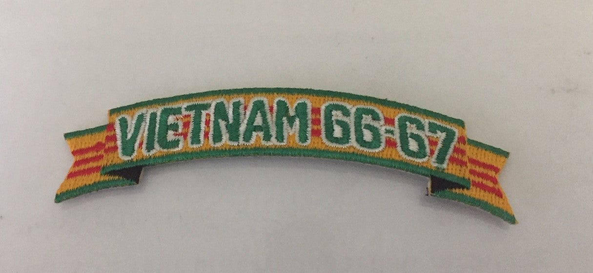 Image of Vietnam Veteran In Country Date 1966-1967  Tap Patch