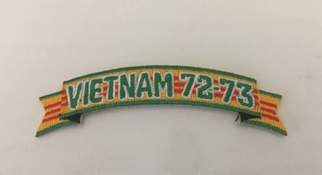 Image of Vietnam Veteran In Country Date Tab Patch
