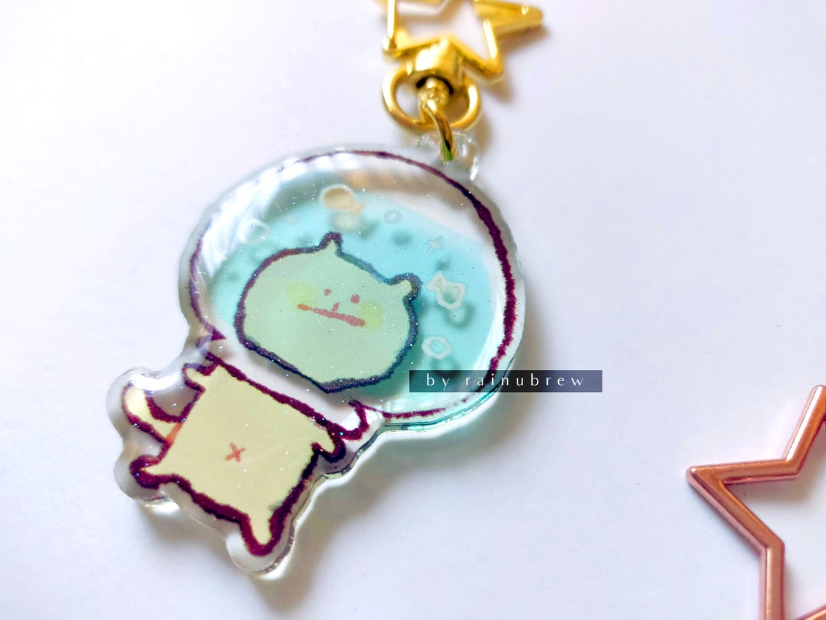 Image of Derp Kawaii Cats | 2 inch charms