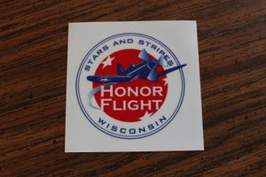 Image of Stars and Stripes Honor Flight - Window Clings