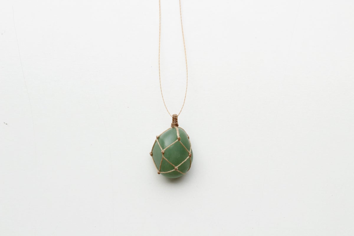 Image of Green Quartz pendant