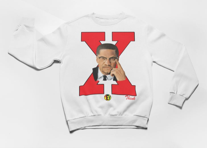 Image of X (WHITE) [4EV CREWNECK]