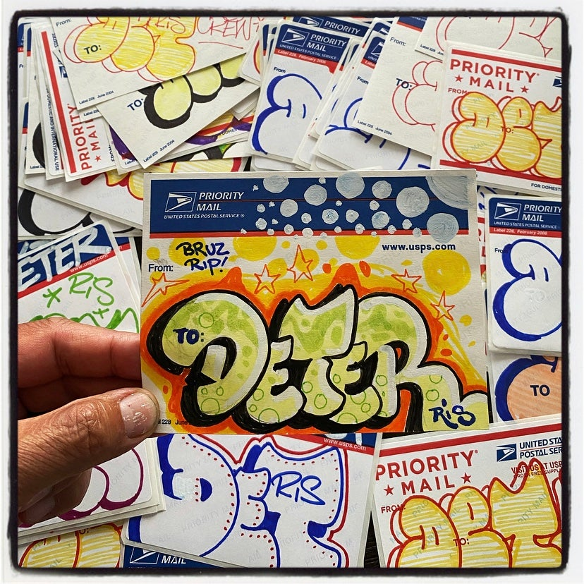 Image of DET RIS STICKER PACK