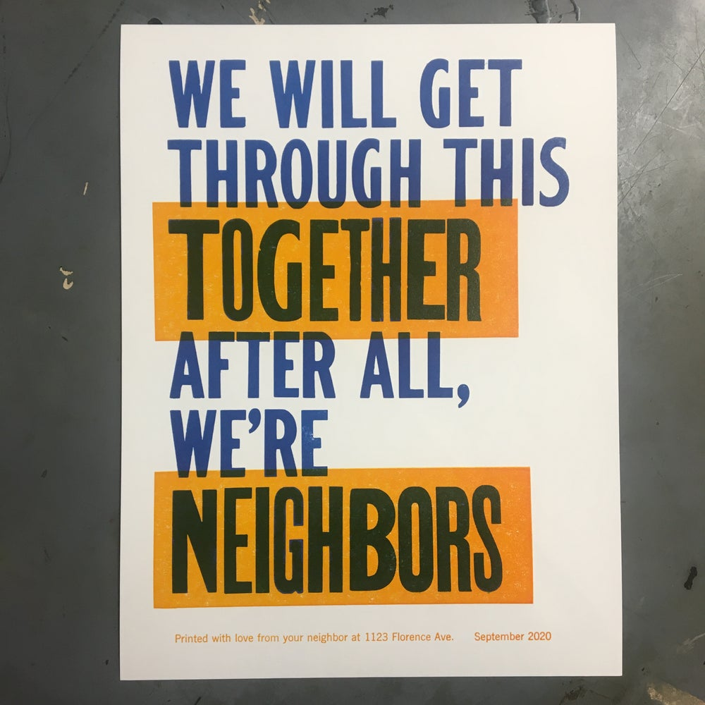Image of We're Neighbors Too