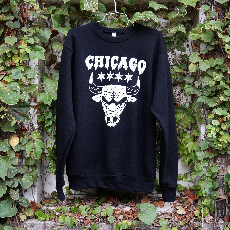 Bulls Black Sweatshirt