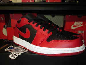 "Image of Air Jordan I (1) Retro Low ""Gym Red/Blk"""