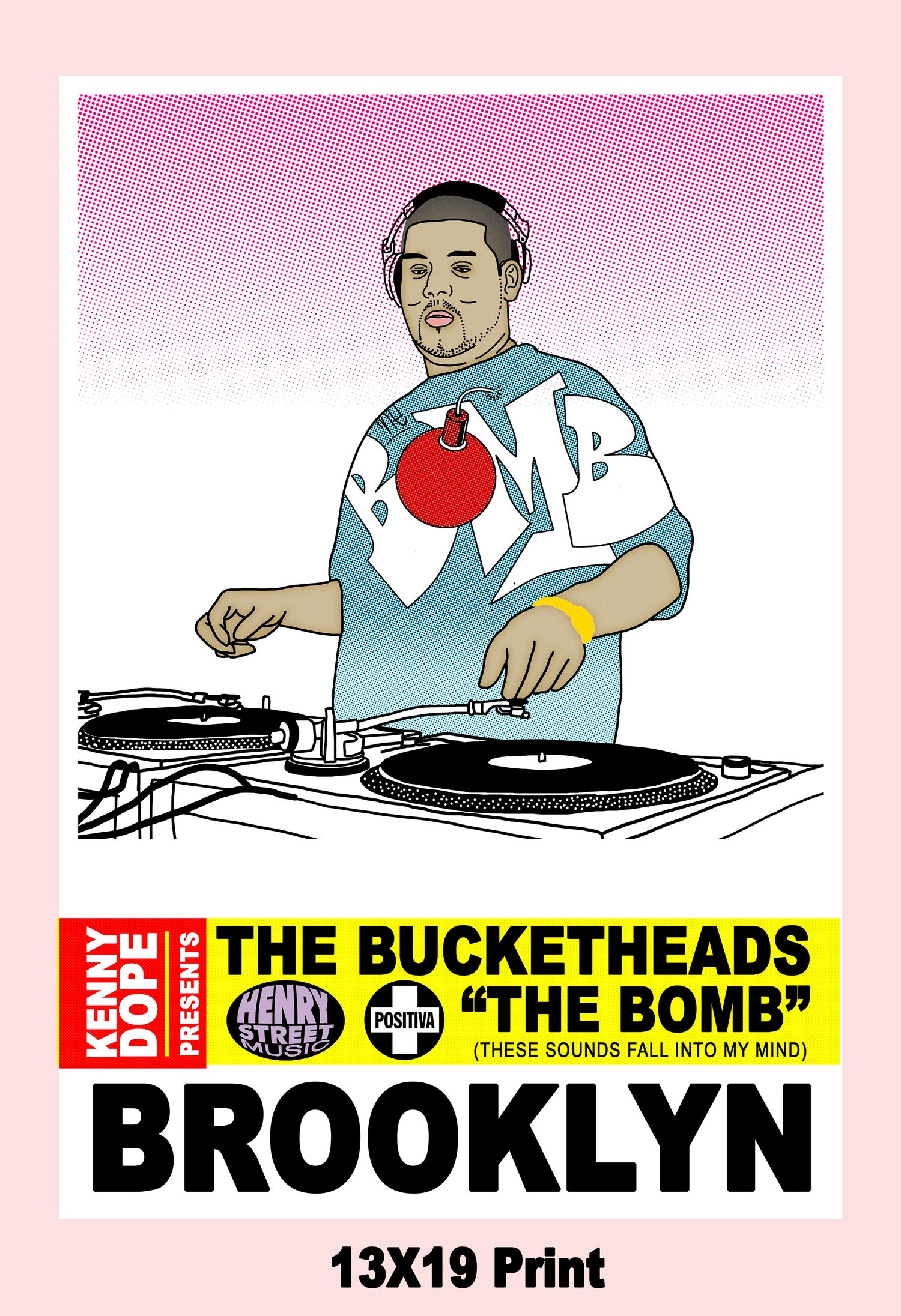 "Kenny Dope Presents ""The Bucketheads"" Poster"
