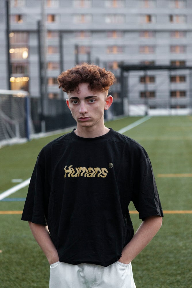 Image of HUMANS Tee (gold)