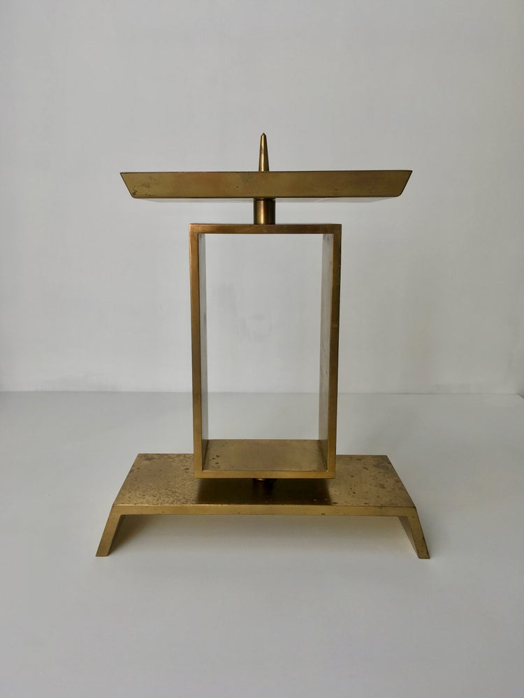 Image of Modernist Church Candlestick