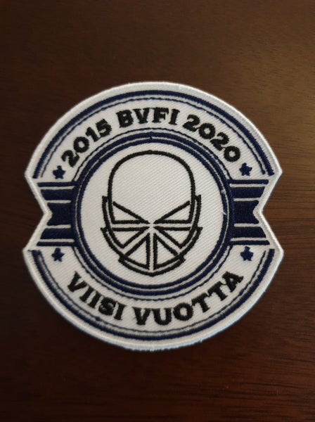 Image of BVFI Five year anniversary patch